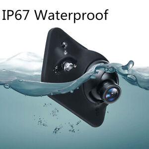 Car Blind Spot Front Side Rear View Camera Auto-dimming IR LED Light Sensor Cam
