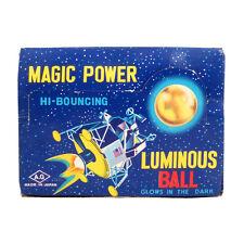 1969 GLOW-IN-THE-DARK Magic Power SUPERBALL Apollo Lunar Lander FULL COUNTER BOX