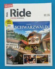 Ride Motorrad unterwegs No.06/2020 Schwarzwald  ungelesen 1A  absolut TOP