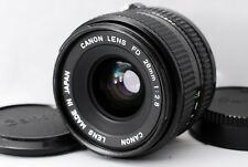 [Near Mint] Canon New FD 28mm F/2.8 MF Wide Angle Lens From Japan #415