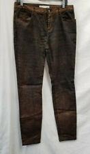 Trina Turk Metallic Copper Skinny Jeans Sz. 8
