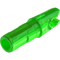 Gold Tip Nock .246 Accu-Lite Flo Green 8gr 12pk NOCKALFG12 Velocity #00783