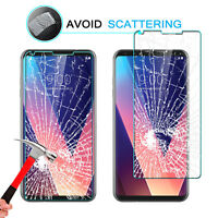 For LG V30 / V35 ThinQ / V20 Real Tempered Glass Screen Protector Clear Film FA
