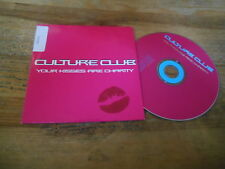CD Pop Culture Club - Your Kisses Are Charity :Radio Ed (1 Song) Promo VIRGIN cb