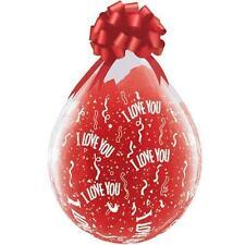 Palloncini trasparente ovale San Valentino per feste e party