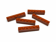 6000743 Lego Stein 1 x 6 Dunkelorange 5 Stück Neu