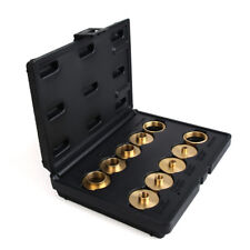 Router Accessories Guide Bushing Kit 10 Piece Brass Router Bushing Sets
