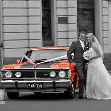 XY GT KING WEDDING CAR HIRE MELBOURNE & 1957 CHEVY,S, formals, debutante ball
