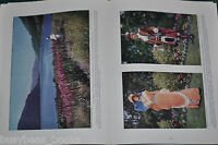 1929 magazine article, LAKE DISTRICT, travels in England, color photos