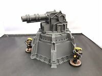 3D Printed Fortification Defence Cannon Turret Terrain for Miniature Wargames