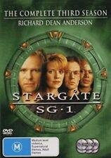 Stargate Sg-1 The Complete Season 3 Movie DVD R4 Megan Leitch