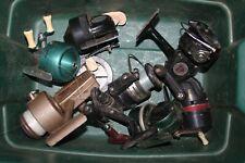 7 Fishing Reel Lot Shakespeare, Daiwa, Bronson, Berkley