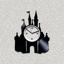 Disney Vinyl Wall Art Clock Modern Xmas Gift Children Room Decor Disney Clock
