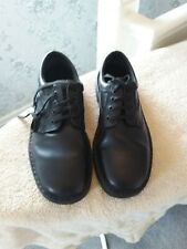 MEN'S BLACK CLARKS LEATHER SHOES SIZE 10 1/2 GREAT CONDITION