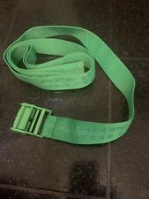 OFF-WHITE 100% AUTHENTIC INDUSTRIAL CANVAS GREEN BELT UNISEX NEW ONE SIZE