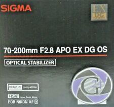 Objektiv Sigma AF 70-200mm f/2.8 DG OS HSM für Nikon - 12 Monate Gewährleistung