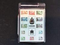 RARE CANADIAN CENTENNIAL 1867-1967 SOUVENIR STAMP BOX ORDER FORM POST CARD INTAC