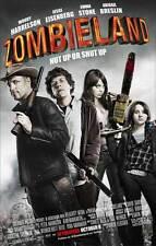 ZOMBIELAND Movie MINI Promo POSTER B Amber Heard Emma Stone Bill Murray