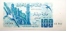 Billet 100 Francs Algerie qualite  (CJ 32)