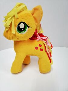 """My Little Pony Apple Jack Plush Pony With Yellow Apples 12"""" by Hasbro"""
