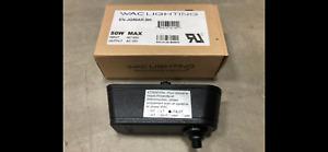 WAC Lighting EN-JQ50AR-BK 120-12V Track Lighting Transformer