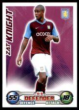 Match Attax 2008/2009 - Zat Knight Aston Villa