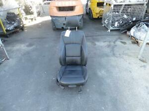 BMW X3 BLACK LEATHER RIGHT FRONT SEAT, F25, 03/11-03/14