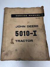 JOHN DEERE 5010-I Industrial Tractor Service Manual SM-2051 Litho 1964