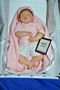 "The Ashton Drake Galleries Miniature Doll ""Handful Of Love"" Original Box."