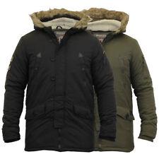 Nylon Hooded Zip Military Coats & Jackets for Men