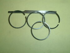 """(4) 7/8"""" Diameter 1/16"""" wide .038 wall Piston Rings Model gas or Steam engines"""