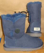 UGG Australia Women's Bailey Button NAVY Boots Size US 7, EU 38 NIB #5803