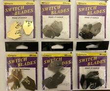 Queen Tackle Switchblade Bladed Jig Blades - Choice of Colors and Sizes