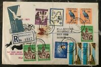 1972 Bergvliet South Africa First Day Airmail Cover To Gern Denmark MXE