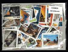 Cosmos Espace - Cosmos Space 500 timbres différents oblitérés