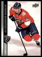 2020-21 UD Series 1 French #78 Aleksander Barkov - Florida Panthers