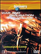 WAR & CIVILISATION (VOL.1) Discovery CHANNEL Doco (2 DVD SET) NEW & SEALED Reg 4