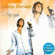 MARCO BORSATO - Vrij zijn CDS 2TR 1996 POP (5 Mei versie) RARE!