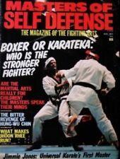 8/75 MASTER OF SELF DEFENSE  JIMMIE JONES JHOON RHEE KARATE KUNG FU MARTIAL ARTS