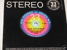 "Duke Ellington 7"" 33 Record Our Children /I Couldn't"