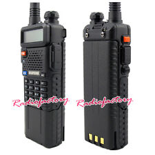 BAOFENG UV-5R Dual Band UHF/VHF Radio w/ Upgrade Version High Capacity  Battery
