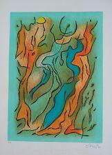 Original Rare Singier Print Ateliers Guillard Edition Gourdon 1969