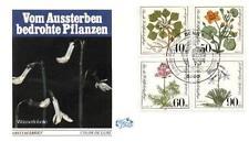 Germany 1981 FDC 1108-11 Kwiaty Blumen Flowers