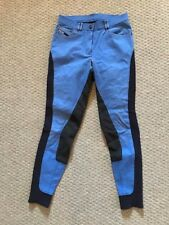 Euro-Star Laureta Blue Full Seat Breeches 26L
