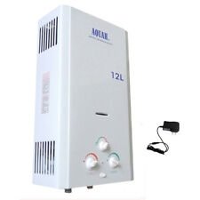AQUAH 12L / 3.2 GPM NATURAL GAS NG TANKLESS WATER HEATER WHOLE HOUSE