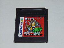 Game Boy Color JAP : King of Bandit Jing Devil version (cartucho/cartridge)