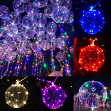 LED Fairy String Light Up Balloons Glow Wedding Birthday Party Xmas Night Decor