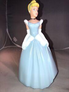 "Disney Princess Cinderella 10"" Hard Plastic Coin Piggy Bank"