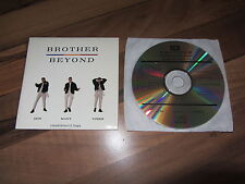 BROTHER BEYOND How Many Times LIMITED EDITION 1987 UK CD singe remix 80s