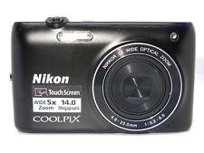 Nikon COOLPIX S4100 14.0MP Digital Camera - BLACK